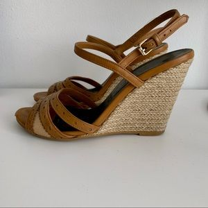 Burberry Espadrilles Wedges Size US5